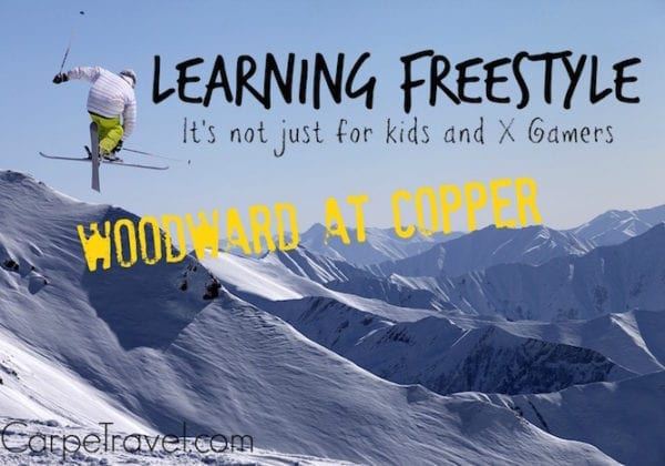 Woodward at Copper Mountain, a great place to learn freestyle skills