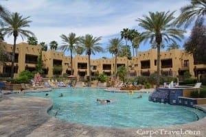 the oasis pool at the wigwam resort - click through for the full review of the resort