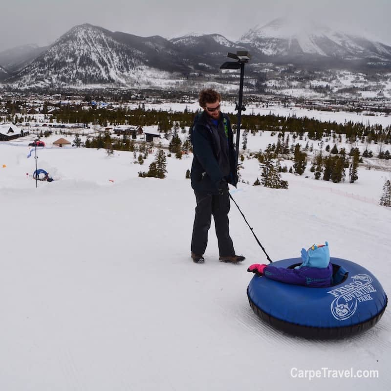 Things to do in Frisco, Colorado: Tubing at the Frisco Adventure Park
