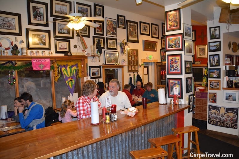 Where to eat in Frisco? Lost Cajun is one of the top restaurants in Frisco. For more Frisco restaurant recommendations, click over to Carpe Travel's travel guide for Frisco, Colorado.