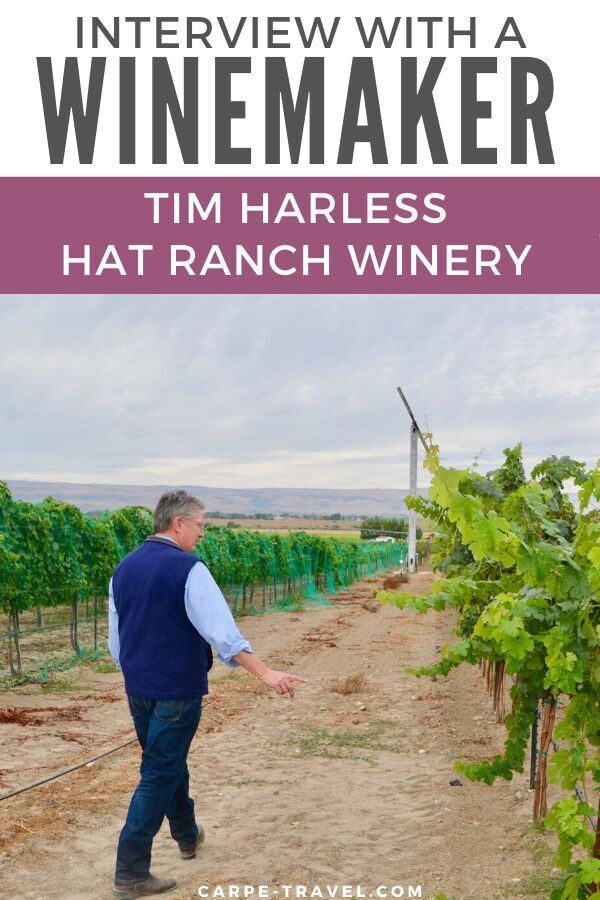 Tim Harless, owner and winemaker at Hat Ranch Winery is helping to pioneer the great new frontier of the Idaho wine industry. Carpe Travel sits down with him to learn more in its Interview with a Winemaker series.