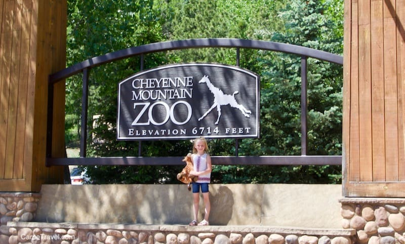 Cheyenne Mountain Zoo = One of the best things to do in Colorado Springs