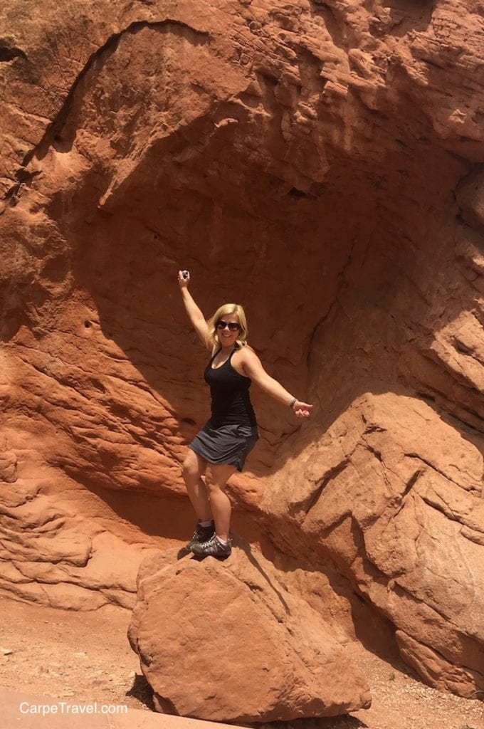 Garden of the Gods = One of the best things to do in Colorado Springs