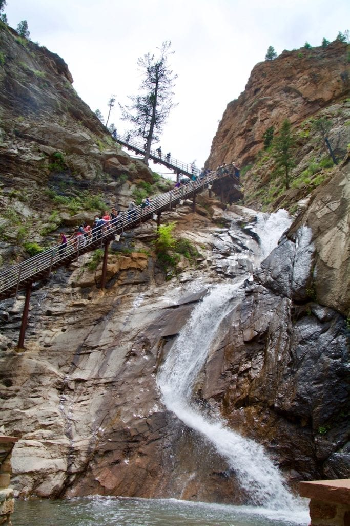 Seven Falls = One of the best things to do in Colorado Springs