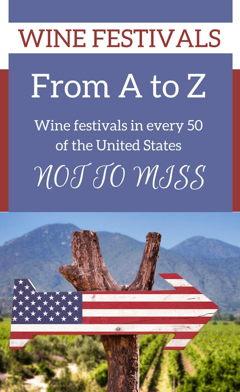 The number of wine festivals popping up across the nation are increasing. However, not all are created equal. Here are some of America's best wine festivals in each of the 50 United States.