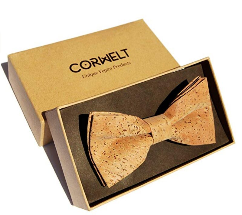 Gifts for wine lovers - Men's Pre Tied Cork Bow Tie