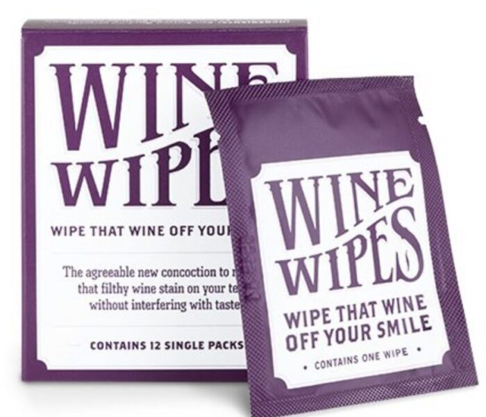 Gifts for wine lovers - Wine Wipes