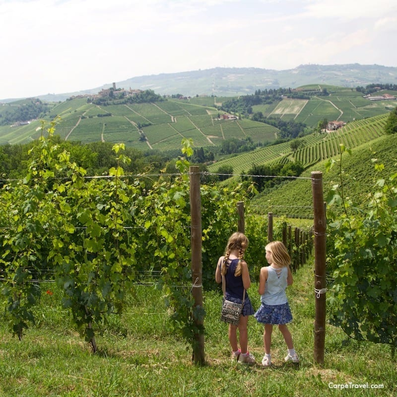 Wine tasting with kids is possible at family friendly wineries