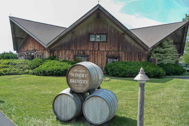 Best Wineries in the Finger Lakes - Wagner Vineyard Estate Winery