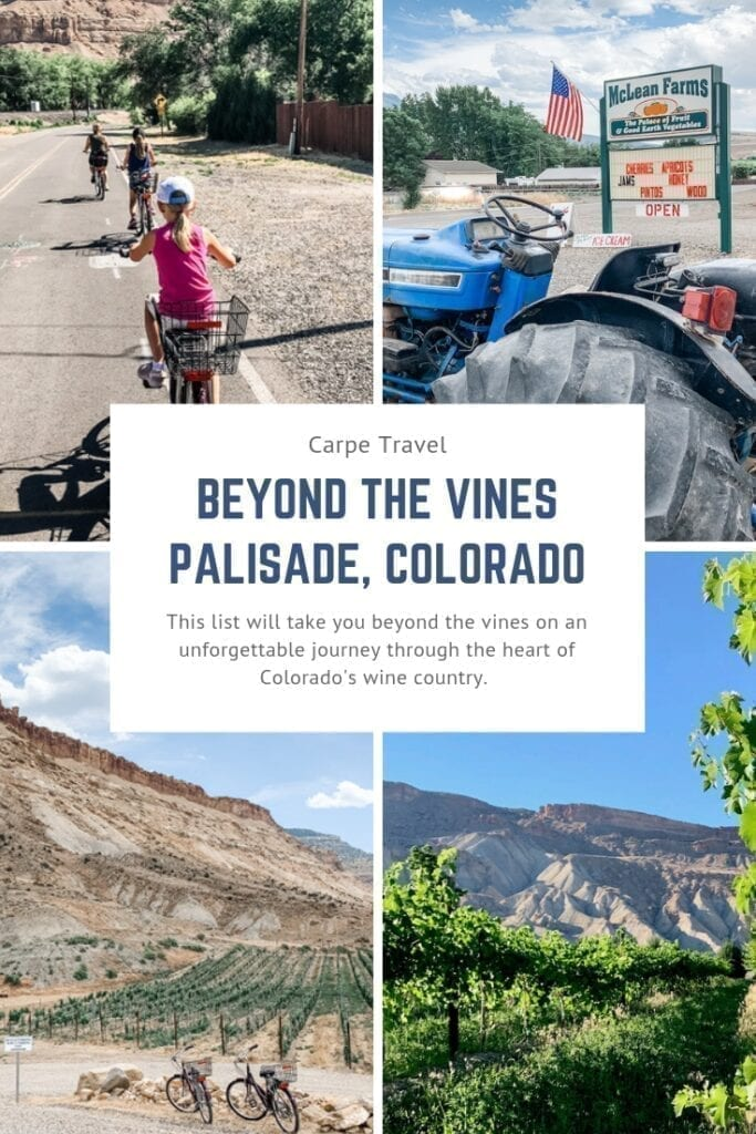 Things to do in Palisade Colorado