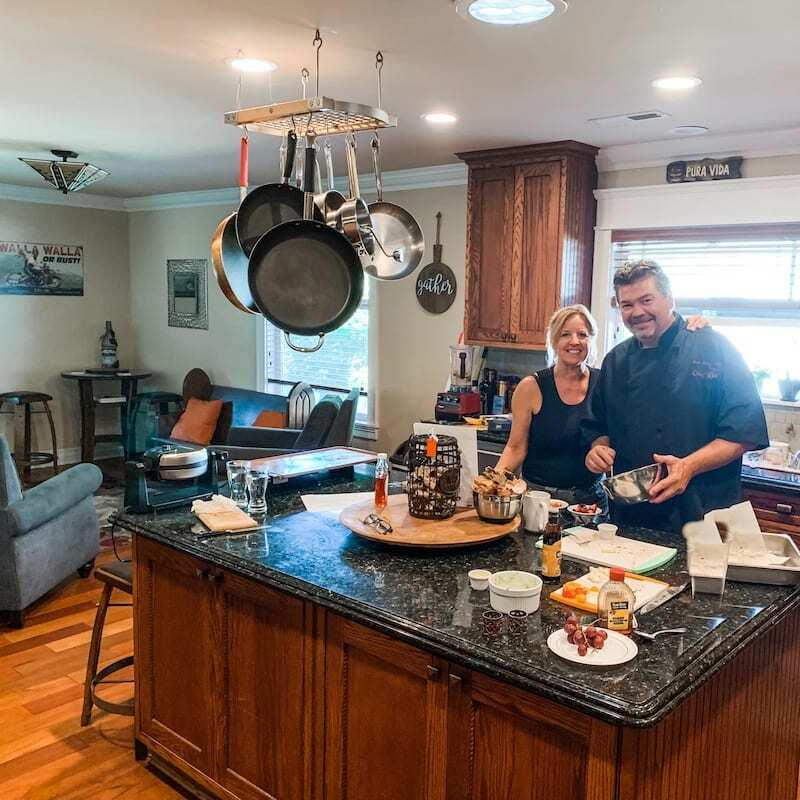 Kim and Tim Gratzer owners of Fat Duck Inn - a top Walla Walla Bed and Breakfast