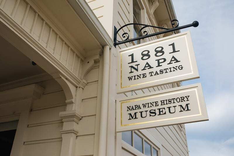 1881 Napa, one of the worlds wine museums to sip in