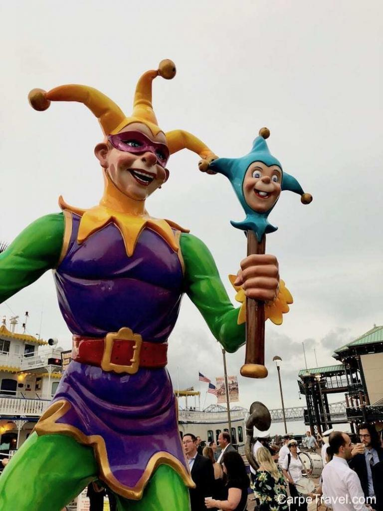 Things to do in New Orleans - Go behind the scenes at Mardi Gras World