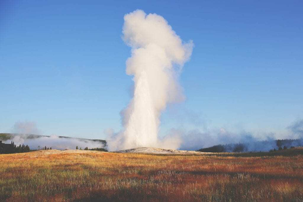 Fun things to do in Napa Valley with kids - Visit Old Faithful