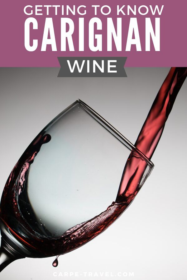 Getting to know Carignan wine. Time to pour into the details about your favorite red wine grape varieties and the wines they're producing! Click over for Carpe Travels guide to understanding the wine regions producing Carignan wine and the grape itself.