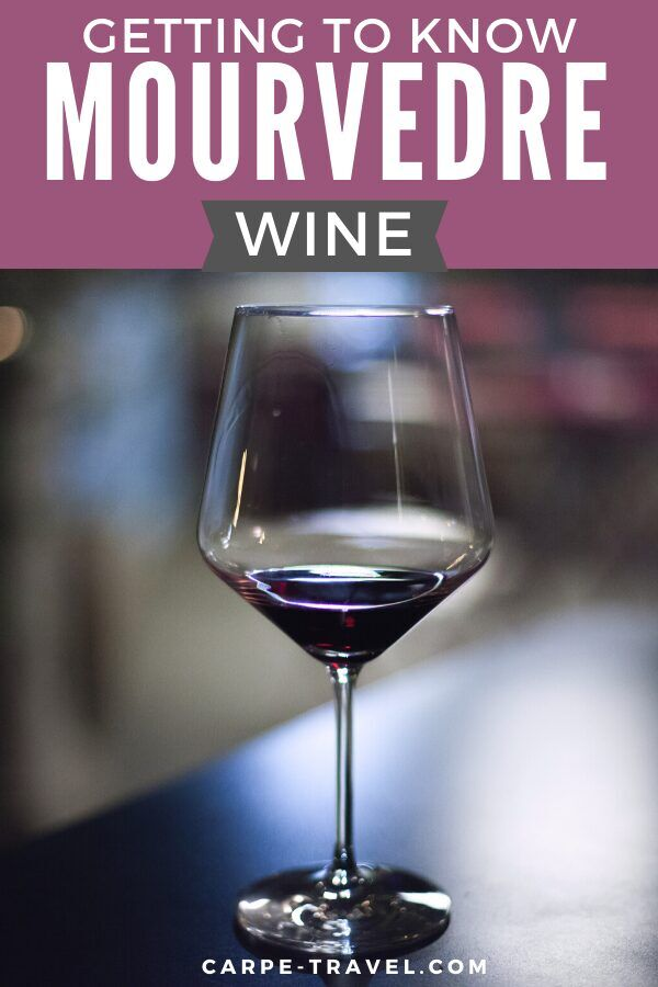 Getting to know Mourvedre wine. Time to pour into the details about your favorite red wine grape varieties and the wines they're producing! Click over for Carpe Travels guide to understanding the wine regions producing Mourvedre wine and the grape itself.