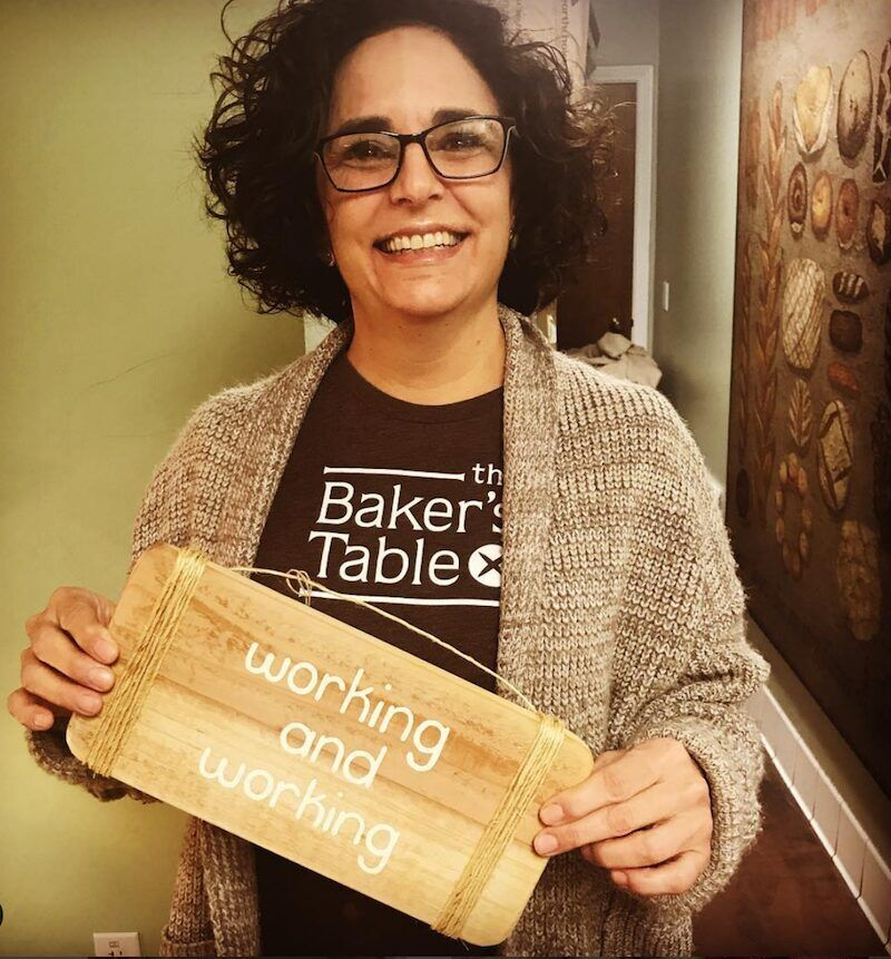 Amy Dixon, The Bakers Table