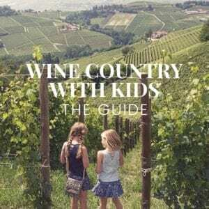Wine Country with Kids