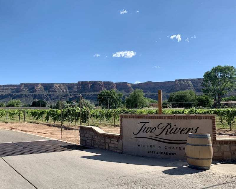 Two Rivers is one of the best Palisade wineries to sip in Colorado wine country.