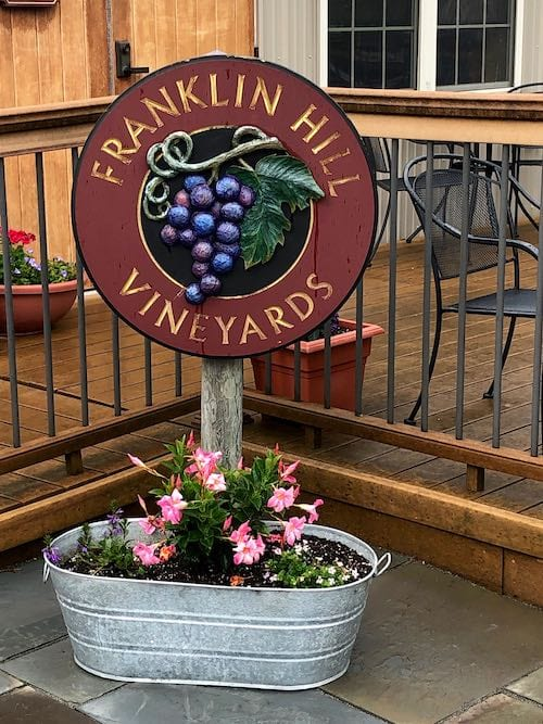 Wineries in The Poconos - Franklin Hill Vineyards