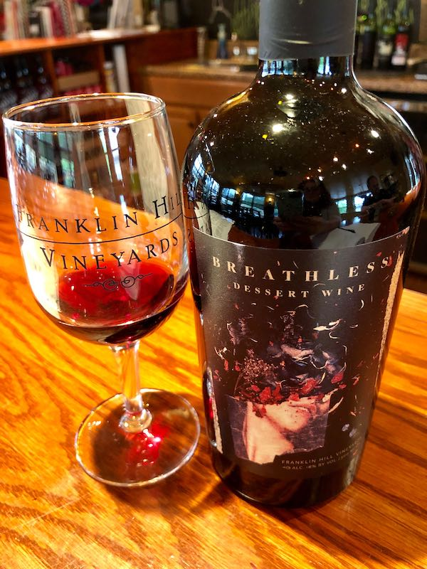 Franklin Hill is one of the Lehigh Valley wineries in Pennsylvania not to miss.