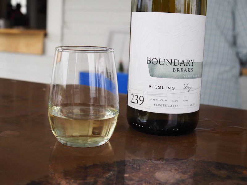Wineries in the Finger Lakes - Boundary Breaks