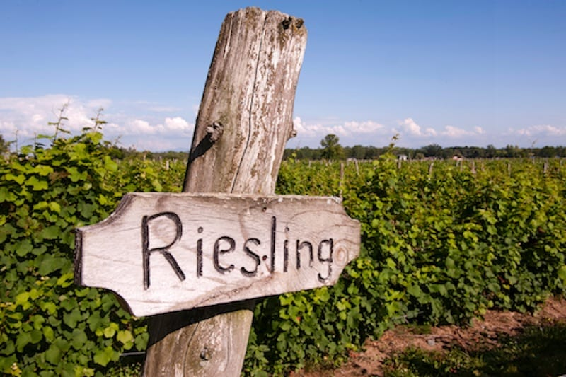 Vermont - Riesling Sign - Champlain Island Winery credit Vermont Department of Tourism