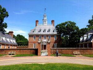 Governor's Palace in Colonial Williamsburg VA