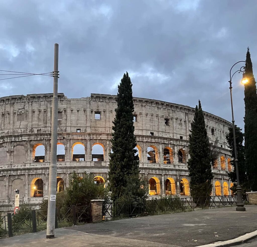 The Colosseum at Dawn, Photo by Devin Parr